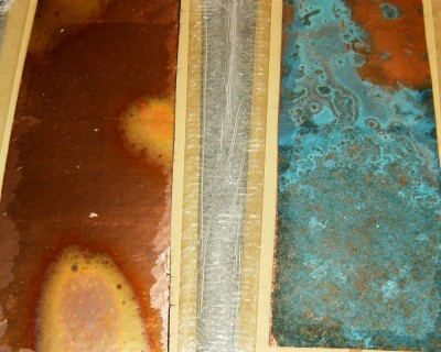 Copper Veneer Top Sheet