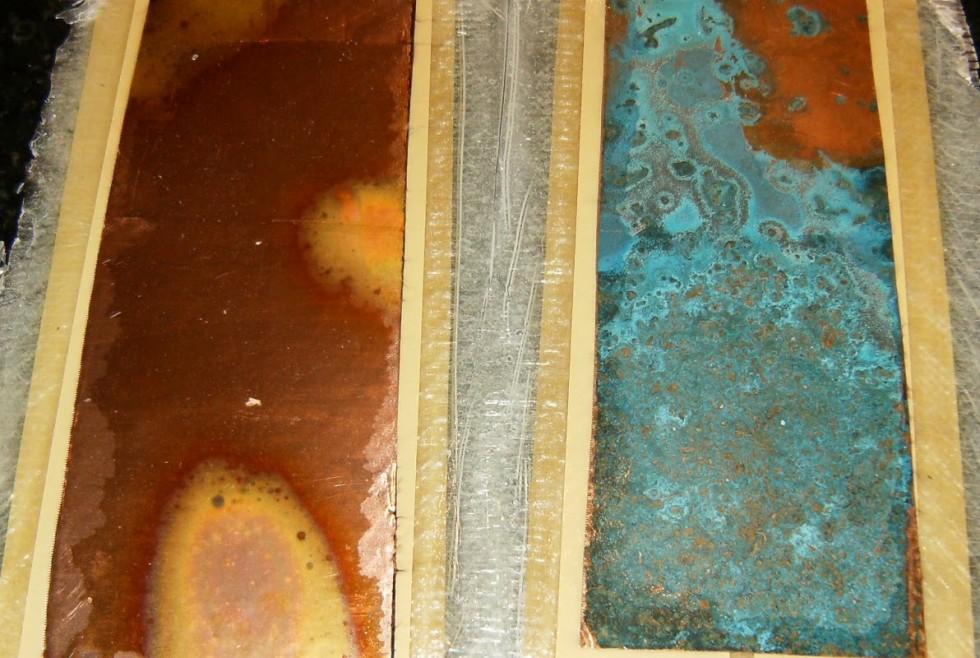 Copper Veneer Top Sheet