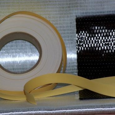 VDS rubber, Carbon Fiber, Triaxial Fiberglass